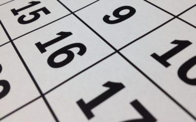 2018/2019 School Year Calendar